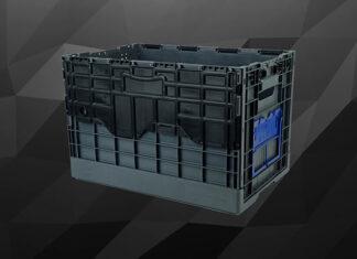 Pojemnik plastikowy zamykany - rozwiązanie dla logistyki